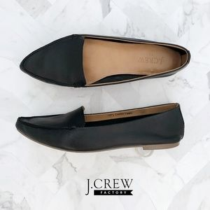 J. CREW Edie Leather Loafers 100344